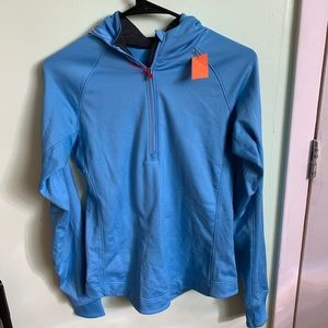BLUE DRY FIT NIKE SWEATER
